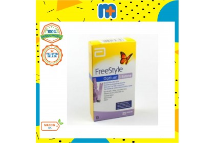 [MPLUS] Freestyle Optium Neo H Ketone Test Strip 10S